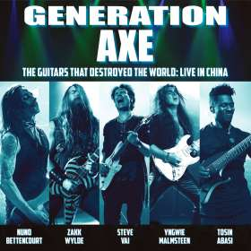 Pop Sampler: Generation Axe: Guitars That Destroyed The World - Live In China, CD
