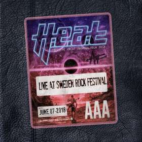 H.E.a.T.: Live At Sweden Rock Festival, CD