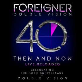 Foreigner: Double Vision: Then And Now - Live Reloaded, CD