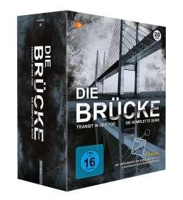 Die Brücke - Transit in den Tod (Komplette Serie), DVD