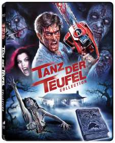 Tanz der Teufel Collection (Limited Edition) (Blu-ray im Steelbook), 3 Blu-ray Discs
