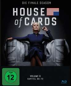 House Of Cards Season 6 (finale Season) (Blu-ray), BR