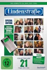 Hans Werner Geißendörfer: Lindenstraße Staffel 21 (Limited Edition mit Flaschenöffner), DVD
