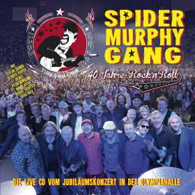 Spider Murphy Gang: 40 Jahre Rock'n'Roll, CD