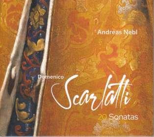 Domenico Scarlatti (1685-1757): Klaviersonaten (arr. für Akkordeon), CD