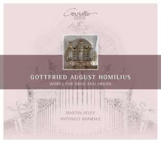Gottfried August Homilius (1714-1785): Musik für Oboe & Orgel, CD