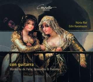 Nuria Rial & Edin Karamazov - Con Guitarra, CD
