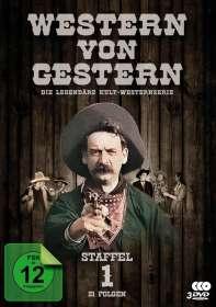 Western von Gestern Box 1, 3 DVDs