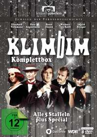 Klimbim (Komplettbox), 8 DVDs