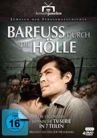 Barfuss durch die Hölle (Komplette TV-Serie), 4 DVDs