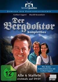 Der Bergdoktor (Komplette Serie 1992-1999), 28 DVDs