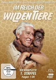 Im Reich der wilden Tiere Staffel 1, 4 DVDs