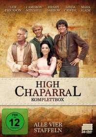 High Chaparral (Komplette Serie), 26 DVDs