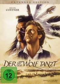 Kevin Costner: Der mit dem Wolf tanzt (Extended Edition), DVD