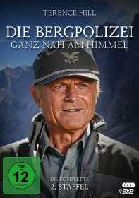 Die Bergpolizei - Ganz nah am Himmel Staffel 2, 4 DVDs