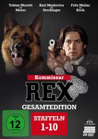 Oliver Hirschbiegel: Kommissar Rex (Gesamtedition), DVD