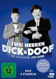 Zwei Herren Dick und Doof (Original ZDF-Serie), 4 DVDs