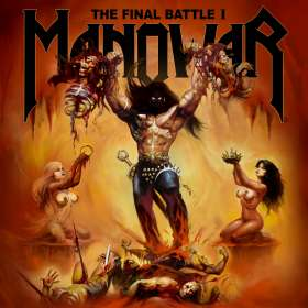 Manowar: The Final Battle I (EP), CD