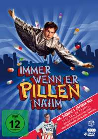 Jack Arnold: Immer wenn er Pillen nahm (Special Edition inkl. Das Geheimnis der blauen Tropfen), DVD