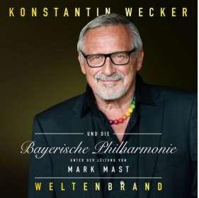 Konstantin Wecker: Weltenbrand, CD