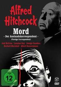 Alfred Hitchcock: Mord - Der Auslandskorrespondent, DVD