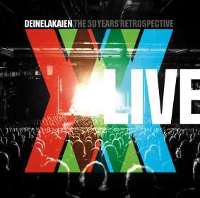 Deine Lakaien: The 30 Years Retrospective Live, 2 CDs