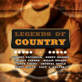 Legends Of Country, 2 CDs