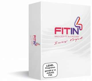 FIT in 4 - Mach dich fit in 4 Wochen, 2 DVDs