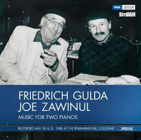 Friedrich Gulda & Joe Zawinul - Music for two Pianos (180g), LP