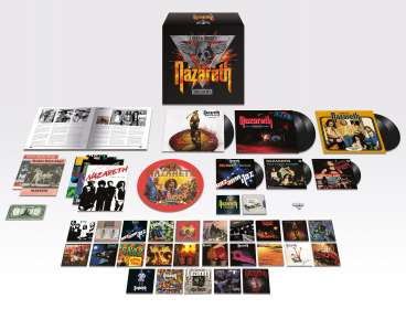 Nazareth: Loud & Proud! The Box Set, 32 CDs