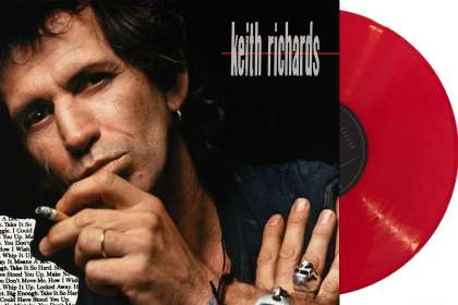 Keith Richards: Talk Is Cheap (30th Anniversary Edition) (Indie Retail Exclusive) (180g) (Limited-Edition) (Red Vinyl), LP