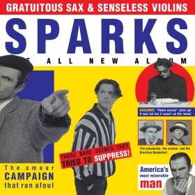 Sparks: Gratuitous Sax & Senseless Violins, CD