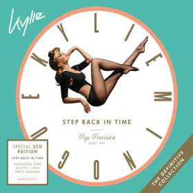 Kylie Minogue: Step Back In Time: The Definitive Collection (Special Edition), CD