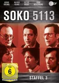 Ulrich Stark: SOKO 5113 Staffel 3, DVD
