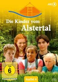 Monika Zinnenberg: Die Kinder vom Alstertal Staffel 4, DVD