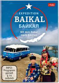 Expedition Baikal - Mit dem Robur nach Sibirien, 2 DVDs