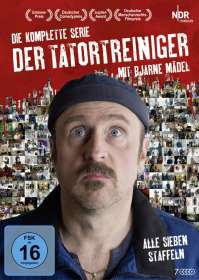 Arne Feldhusen: Der Tatortreiniger (Komplette Serie), DVD