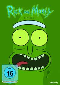 Dominic Polcino: Rick and Morty Staffel 3, DVD
