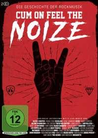 Jörg Sonntag: Cum On Feel The Noize - Die Geschichte der Rockmusik, DVD