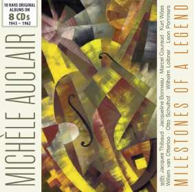 Michele Auclair - Milestones of a Legend, 8 CDs