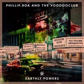 Phillip Boa & The Voodooclub: Earthly Powers (Deluxe-Edition inkl. Bonus-CD), 2 CDs
