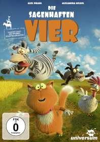 Wolfgang Lauenstein: Die sagenhaften Vier, DVD