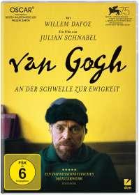 Julian Schnabel: Van Gogh - An der Schwelle zur Ewigkeit, DVD