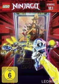 LEGO Ninjago 12 Box 1, DVD