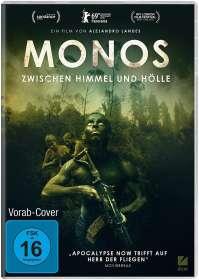 Alejandro Landes: Monos - Zwischen Himmel und Hölle, DVD