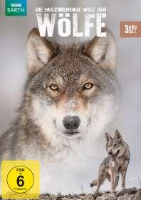 Die faszinierende Welt der Wölfe, 3 DVDs