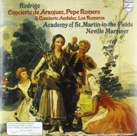 Joaquin Rodrigo (1901-1999): Concierto de Aranjuez für Gitarre & Orchester (180g), LP