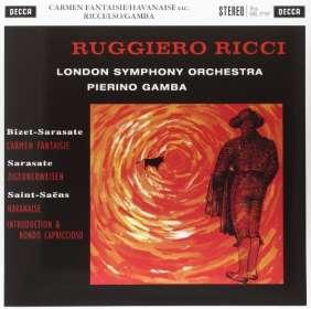 Ruggiero Ricci - Werke für Violine & Orchester (180g), LP