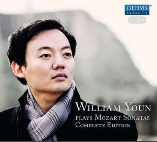 Wolfgang Amadeus Mozart (1756-1791): Klaviersonaten Nr.1-18, 5 CDs