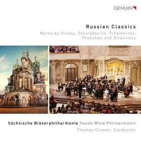 Sächsische Bläserphilharmonie - Russian Classics, CD